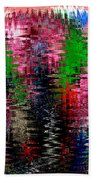 Jacks And Marbles Abstract Bath Towel
