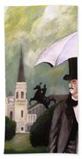 Jackson Square Hand Towel by Rob Peters