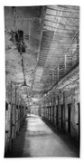 Jail - Eastern State Penitentiary - The Forgotten Ones  Bath Towel