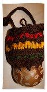 Jamaican Coconut And Crochet Shoulder Bag Bath Towel