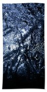Jammer Blue Hematite 001 Bath Towel
