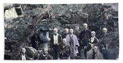 Japan Group Portrait, C1866 Hand Towel