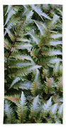 Japanese Ferns Bath Towel