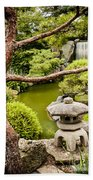 Japanese Garden Bath Towel