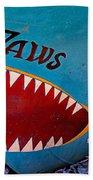 Jaws Boat Bow Bath Towel