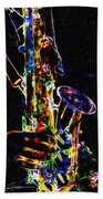 Jazz Lights Bath Towel