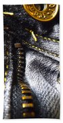Jeans - Abstract Bath Towel