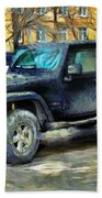 Jeep Wrangler Bath Towel