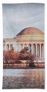 Jefferson Memorial In Dc Bath Towel
