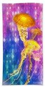 Jelly Fish Dance Bath Towel