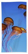 Jellyfish Swarm Bath Towel