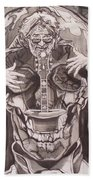 Jerry Garcia . . Magic Is What We Do - Music Is How We Do It Hand Towel