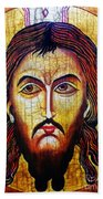 Jesus Christ Mandylion Bath Towel