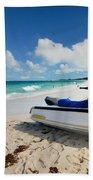 Jet Ski On The Beach At Atlantis Resort Bath Towel