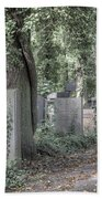Jewish Cemetery Weissensee Berlin Germany Bath Towel