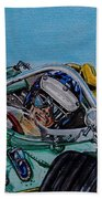 Jim Clark Indy 500 Hand Towel