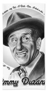 Jimmy Durante Bath Towel