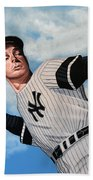 Joe Dimaggio Bath Towel