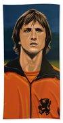 Johan Cruyff Oranje Bath Towel