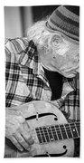John Decker - Grayscale Bath Towel