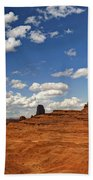 John Ford Point - Monument Valley  Bath Towel