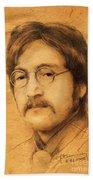 John Lennon Hand Towel
