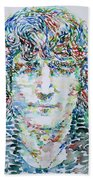 John Lennon Portrait.1 Bath Towel