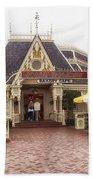 Jolly Holiday Cafe Main Street Disneyland 02 Bath Towel