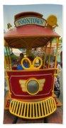 Jolly Trolley Disneyland Toon Town Bath Towel