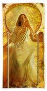 Joy Faith Hope Love II Bath Towel