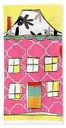 Joy House Card Bath Towel