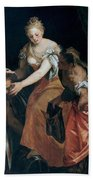 Judith And Holofernes Hand Towel