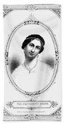 Julia Tyler (1820-1869) Bath Towel