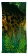 Jungle Eyes - Jaguar Bath Towel