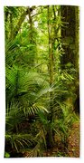 Jungle Scene Bath Towel