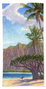 Kaaawa Beach - Oahu Bath Towel