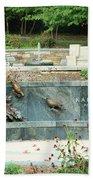 Kahlil Gibran Memorial Garden Bath Towel