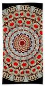 Kaleidoscope Colorful Jeweled Rhinestones Bath Towel