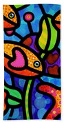 Kaleidoscope Reef Bath Towel