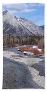 Kananaskis River Bath Towel