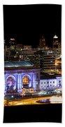 Kansas City Lights Bath Towel