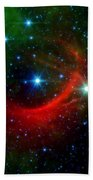 Kappa Cassiopeiae Shock Wave Bath Towel