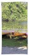 Kayak Rentals Bath Towel