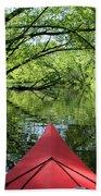 Kayaking Backwater Mississippi 1 Bath Towel