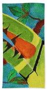 Keel-billed Toucan Bath Towel