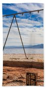 Keep Out No Playing Here Swing Set Playground Bath Towel