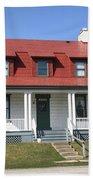 Keeper's House - Presque Isle Light Michigan Bath Towel