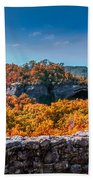 Kentucky - Natural Arch Scenic Area Bath Towel
