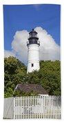 Key West Lighthouse Bath Towel