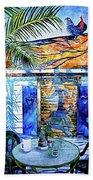 Key West Still Life Bath Towel